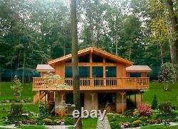 Woodbine 54 x 44 Customizable Shell Kit Home, delivered ready to build