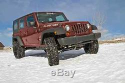 Zone 3 Full Suspension Lift Kit withFox 2.0 Shocks for 2007-2018 Jeep Wrangler JK