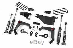 Zone C31N 3 Suspension Lift Kit for 2001-10 Chevy Silverado GMC 2500HD/3500HD