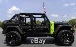 Zone Offroad J15N 4 Full Susp Lift Kit for Jeep Wrangler JKU 4-Door Unlimited