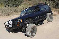 Zone Offroad J8N J9N 4.5 Full Suspension Lift Kit for 1984-01 Jeep Cherokee XJ