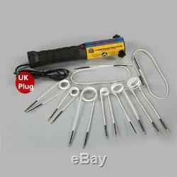 1000w Ductor Chauffage À Induction Magnétique Automobile Kit Chaleur Sans Flamme 8 Set Bobines