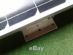 100 Watt Motorhome Camper Van Caravan Panneau Solaire Kit Complet Contrôleur LCD 100w