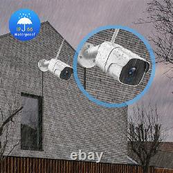1080p 8ch Home Security Camera System Wireless Nvr Cctv System Kit Vision Nocturne