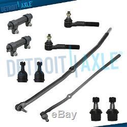 10pc Suspension Kit De Fixation Avant Rods Joints À Rotule 2003-2008 Dodge Ram 2500 3500 4x4