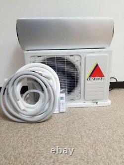 12 000 Btu Climatiseur Sans Conduit, Thermopompe Mini Split 220v 1 Tonne Avec / Kit