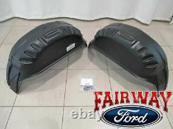 17 Thru 22 Super Duty F-250 F-350 Oem Ford Pièces Arrière Roue Well Liner Kit Pair