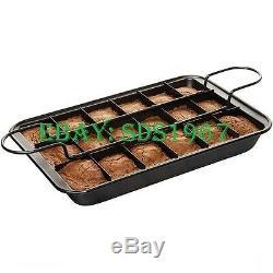 18 Nouvelles Portions De Maker Faire Cuire Tray Tin Pan Set Gâteau Ultime De Cuisson Kit