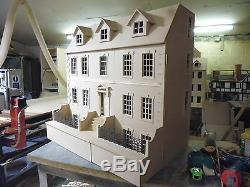 1/12 Échelle Dolls House Dalton 3ft Large Avec Sous-sol Kit Par Dhd