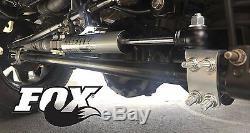 2007-2018 Jeep Wrangler Jk Fox 2.0 Stabilisateur De Direction Double Ifp Pour Kits De Levage