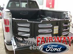 2009 À 2014 Ford F-150 F150 Oem Black Stowable Bed Extender Kit