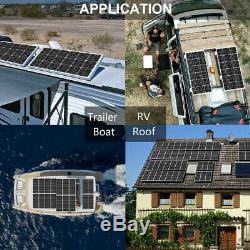 200w Kit Complet 2100w 12v Panneau Solaire Et 20a Controller Pour Voiture Caravan Rv