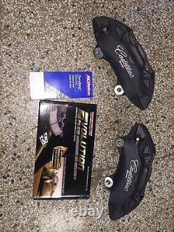 2013+ Cadillac Ats 4 Piston Brembo Avant Frein Calipers Avec Kit D'épingle Et Plaquettes De Frein