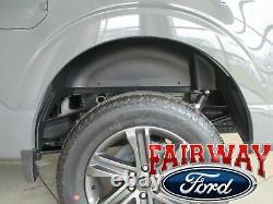 21 Thru 22 F-150 Oem Véritable Ford Poids Lourd Arrière De Roue Well House Liner Kit Nouveau