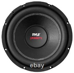 2 Pyle Plpw12d 12 3200w Subwoofers De Voiture Stereo Woofer, 2 Ch Amplificateur Et Kit D'amplificateur