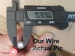 2ga 36-ft Hi-amp Universal-quick-connect-wiring-kit- Dump Trailer-mounted-winch