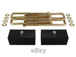 3 Leveling Lift Kit Chevy Gmc Sierra Silverado 99-07 Incl. Chocs Cales Bottes