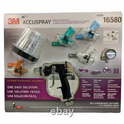 3m Accuspray One Auto Peinture Pistolet Kit Système Standard Avec Pps 16580