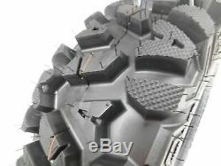 4 Nouveau Pneu 25x8-12 25x10-12 Kt Massfx Set Pneus Pneumatiques 6 Ply 25 25x8x12 25x10x12