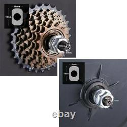 500avec1000w 26 Electric Bicycle Motor Conversion Kit Front/rear Wheel E Bike Pas