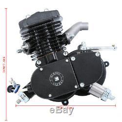 80cc 2 Temps Essence Gaz Moto Vélo Kit Motorisé Moteur Cycle Cylindre Simple