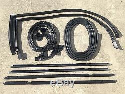 81-88 Monte Carlo Ss 9pc Toit Rail, Fenêtre, Coffre Joint De Porte Kit Calfeutrage