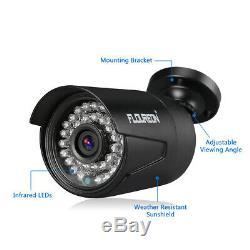8ch 5in1 1080n Ahd Hdmi Dvr Extérieur 3000tvl Caméra Accueil Cctv Kit Système De Sécurité