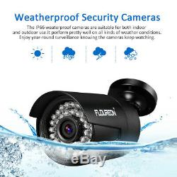 8ch Cctv 1080p 1080n Ahd Dvr 4x 3000tvl 2.0mp Caméra Ip Kit De Sécurité Nvr Kit Système