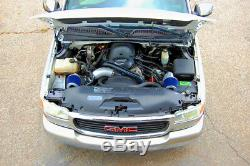 99-11 Tahoe Suburban Yukon Vortec 1000hp Twin Turbo Kit Turbocompresseur V8 5.3 6.0