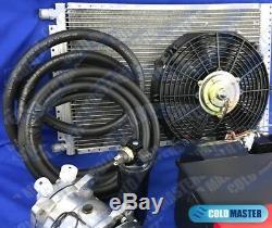 A / C Kit Universal Underdash Évaporateur 404-0dc Chaud Froid H / C & Elec. Harnais