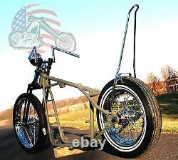 A $$ Grinder Harley Sportster Ironhead Châssis Roulant Cadre Paughco Vélo Kit XL