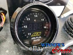Aem 30-4110 Wideband Air / Carburant Uego Jauge Kit Électrique 52 MM Bosch 4.9 Lsu