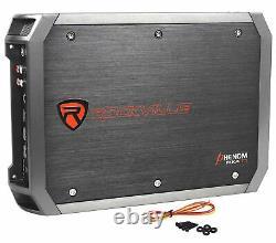 Alpine Swt-12s4 1000 Watt 12 Voiture Audio Tube De Basse Subwoofer+amplificateur+amp Kit