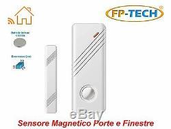 Antifurto Allarme Écran Tactile Casa Kit Combinatore Gsm Sans Fil Senza Fili App