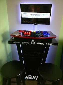 Arcade Panneau De Configuration Avec Graphiques Personnalisés Et Zippy Kit De Contrôle, Cam Verrouillage Assemb