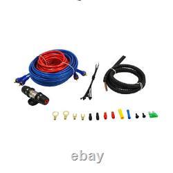 Audiopipe Apsb-1299pp Subwoofers Audio De 12 Pouces De Voiture, 500 Watt Amp, Et Kit De Fil