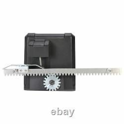 Automatique 600kg Sliding Gate Opener Kit Door Electric 2 Keys+4m Racks Uk