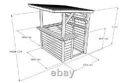 Bar De Jardin Entièrement Traité Bricolage Bar Kit