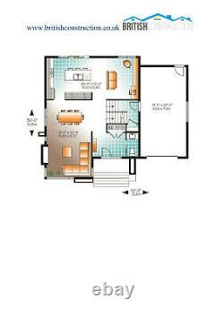 Bâtiment Modulaire, Maison De Section, Préfab, Kit Maison, Kit Auto-bâtiment