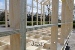 Bergers Hut Glamping Pod Cadre Diy Kit Auto Construire 5.4m X 2.2m
