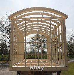 Bergers Hut Glamping Pod Cadre Diy Kit Auto Construire X 4.2m 2.2m