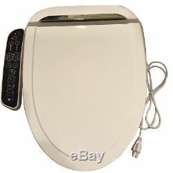 Bidet4me E-260a Siège De Toilette Électrique Bidet Allongé Blanc - Kit Day Livraison Gratuite Us