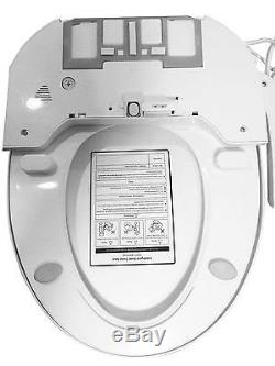 Bidet4me E-300a Siège De Toilette Électrique, En Plastique, Blanc Allongé - Kit