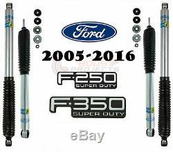 Bilstein B8 5100 Chocs Avant Arrière Pour 2005-2016 F-250 / F-350 Super Duty Trucks