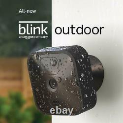 Blink Extérieur (le Plus Récent Modèle 2020) Système De Caméra De Sécurité Hd 3 Kit Caméra