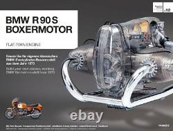 Bmw R/90-s Flat Twin Airhead Kit Modèle De Moteur Avec Manuel De Collection