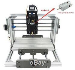 Bricolag Cnc Kit Routeur Usb De Bureau En Métal Pcb Engraver Fraiseuse