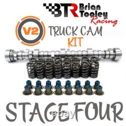 Btr Ls Truck Camshaft Kit Stage 4 Cam Valve Springs Sceaux 4,8 5,3 6,0 6,2