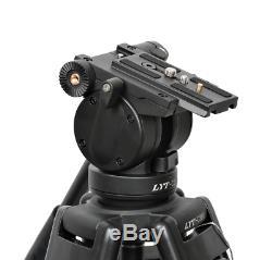 Caméra Vidéo Heavy Duty Professionnelle DV Trépied Avec Kit Tête Fluide Pan 72 Pouces