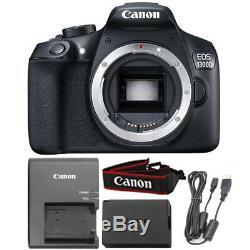 Canon Eos 1300d / T6 18mp Appareil Photo Reflex Numérique + 18-55 MM + Kit D'accessoires